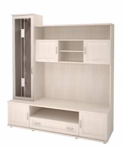 50 Ника-Люкс Шкаф-стеллаж комбинированный