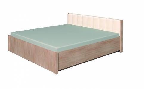 BERLIN33 Кровать (1400) каркас, Сонома
