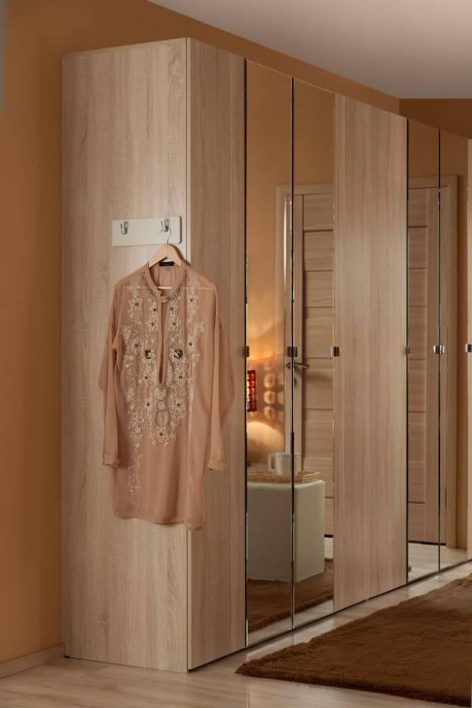 BERLIN34 Шкаф для одежды и белья, Сонома