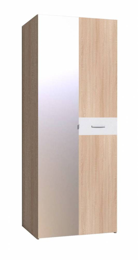 WYSPAA 35 Шкаф для одежды, фасад ЗЕРКАЛО+фасад СТАНДАРТ