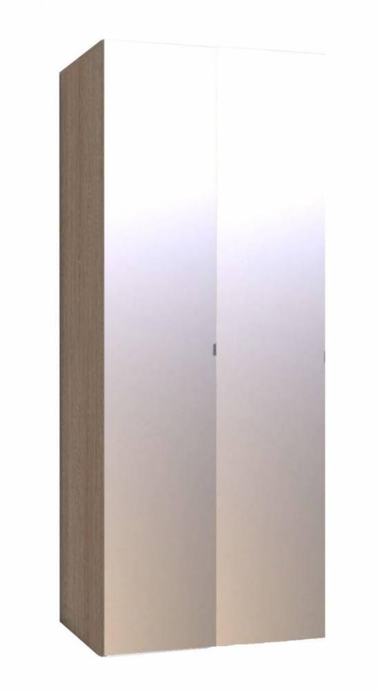 WYSPAA 35 Шкаф для одежды, фасад ЗЕРКАЛО*2 шт