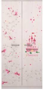 1 «Принцесса» Шкаф для одежды