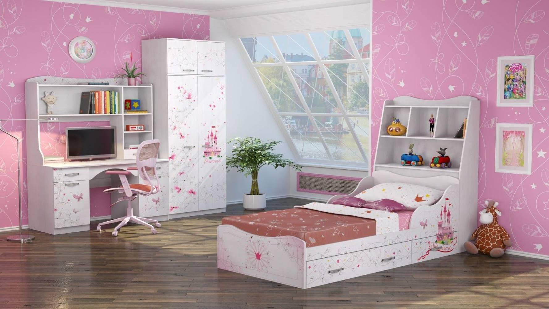 Детская комната Принцесса. Комплект 3