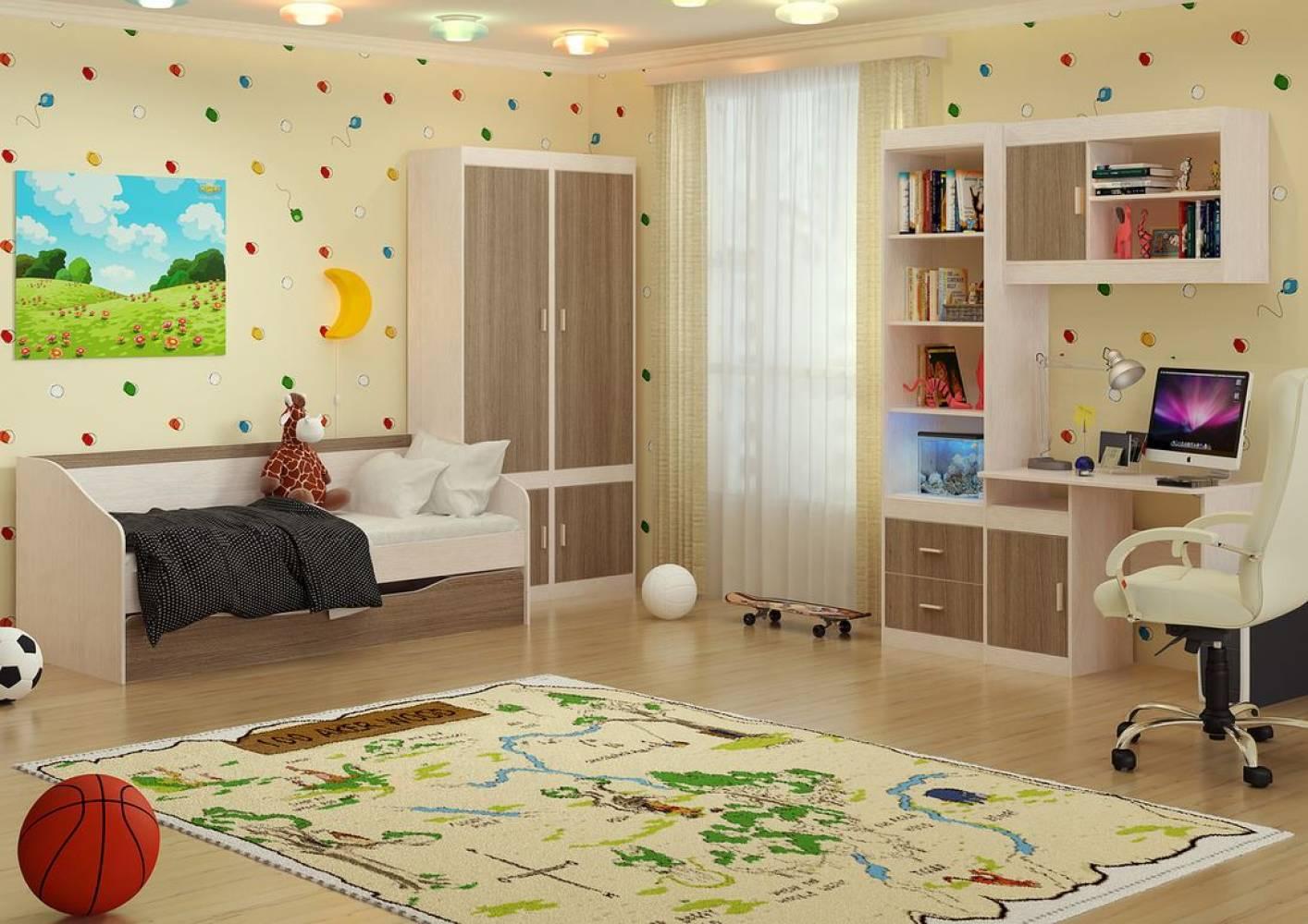 Детская комната Паскаль. Компоновка 1