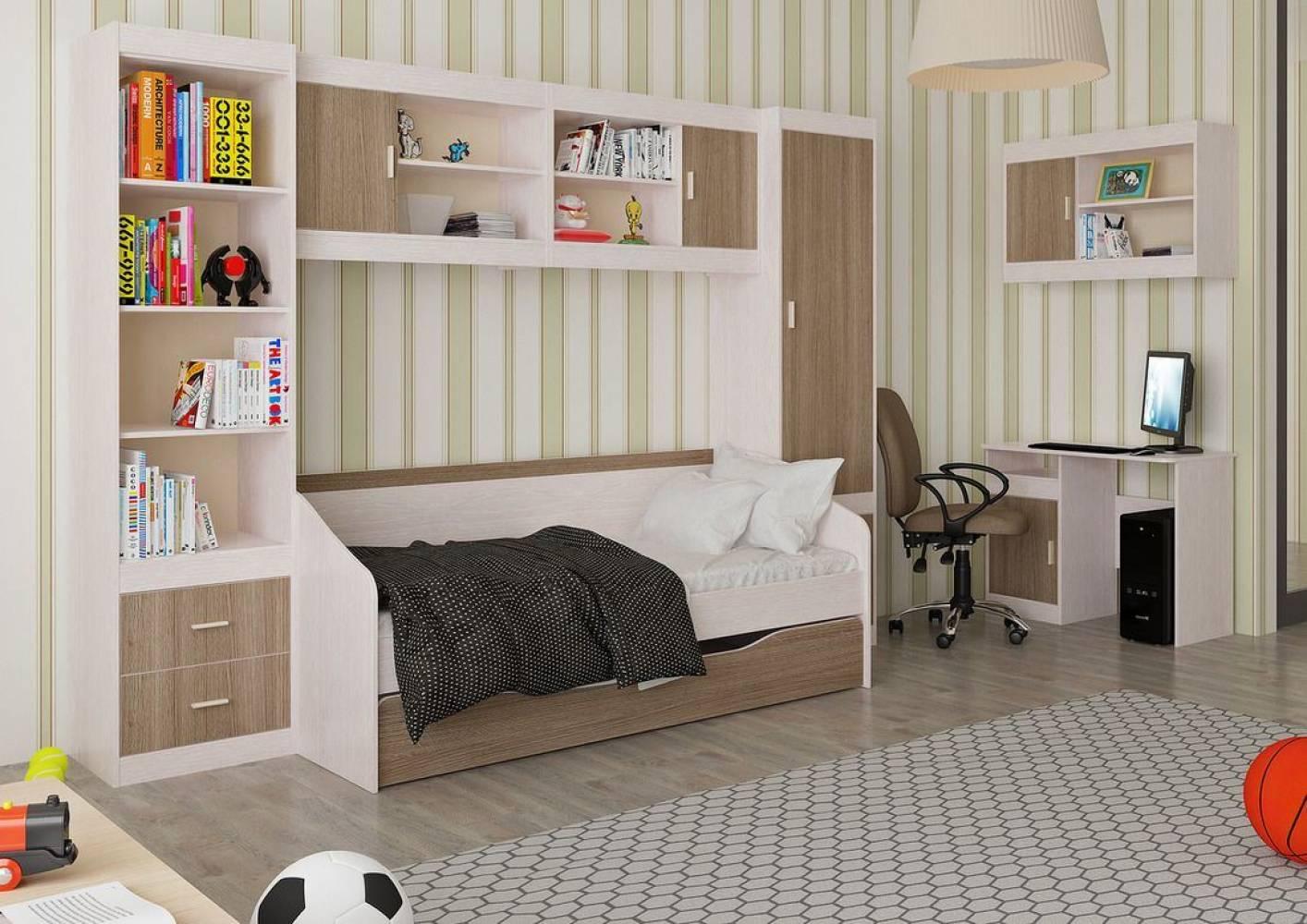 Детская комната Паскаль. Компоновка 2