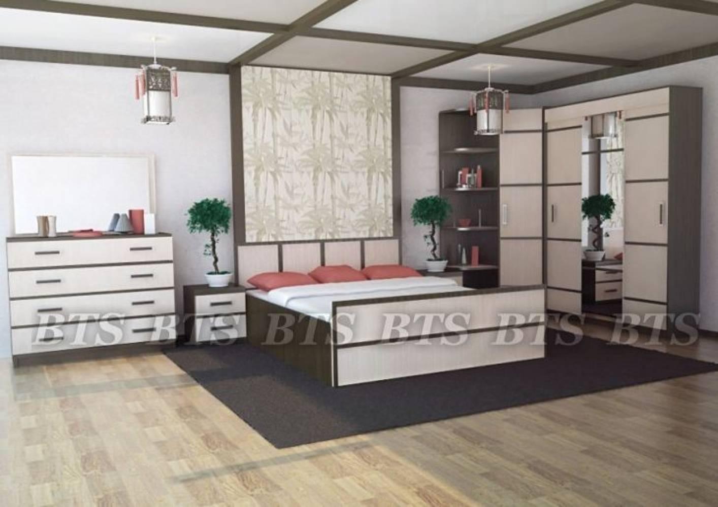 Спальня Сакура. Компоновка 2