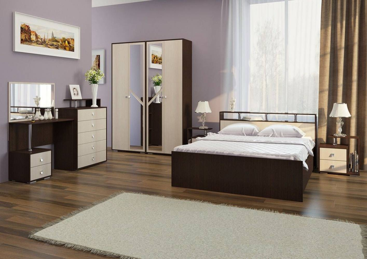 Спальня Саломея. Компоновка 1