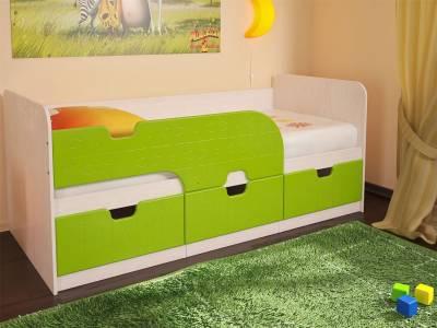Кровать Минима Лайм Глянец