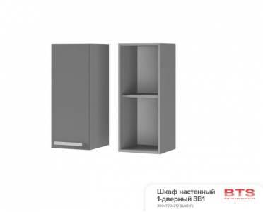 3В1 Шкаф настенный 1-дверный Арабика