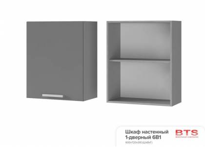 6В1 Шкаф настенный 1-дверный Прованс 2