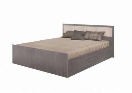 Кровать на 1400 с проложкой ДСП без матраса Фиеста, ясень