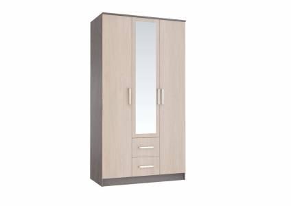 Шкаф 3-х дверный Фиеста, ясень