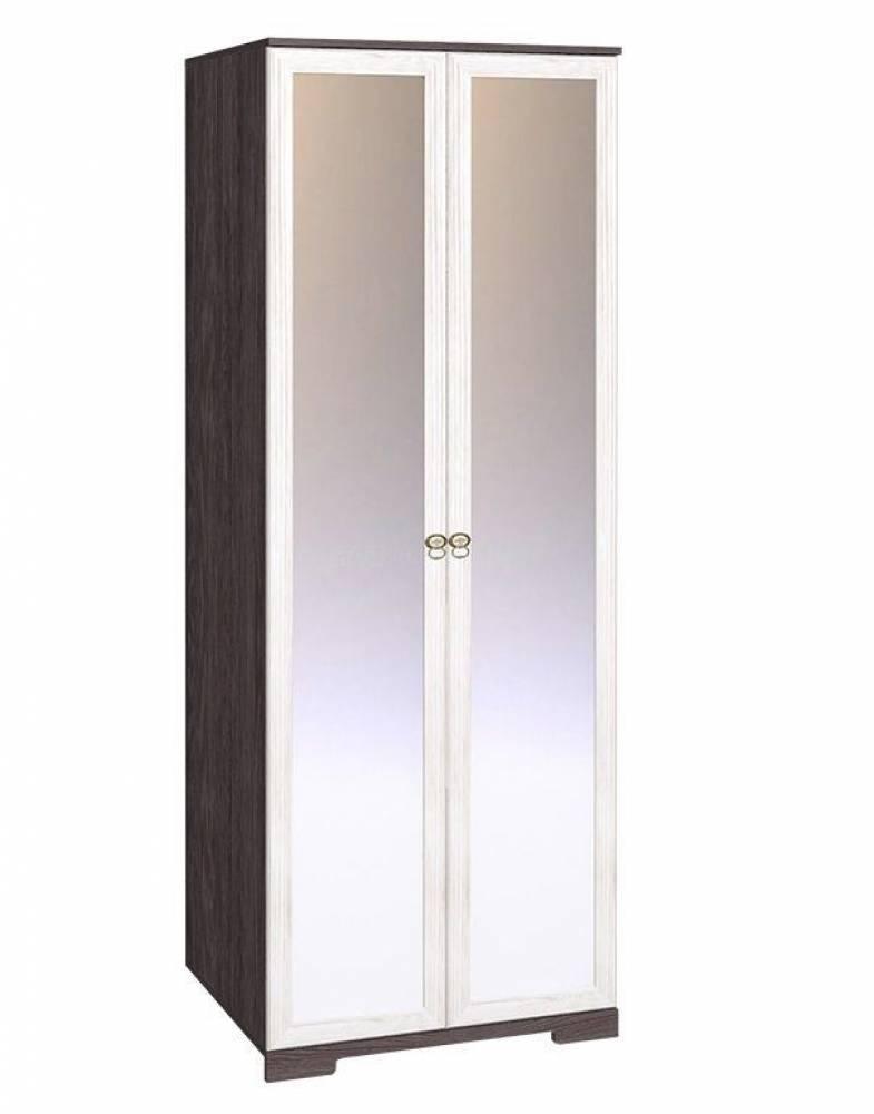 Бриз 12 Шкаф для одежды, дверь зеркало (2 шт)