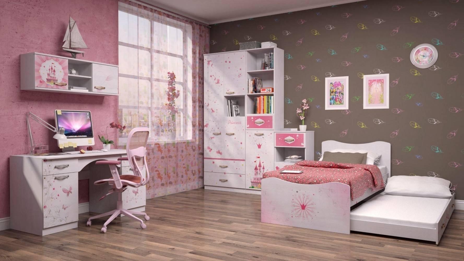 Детская комната Принцесса.Комплект 2