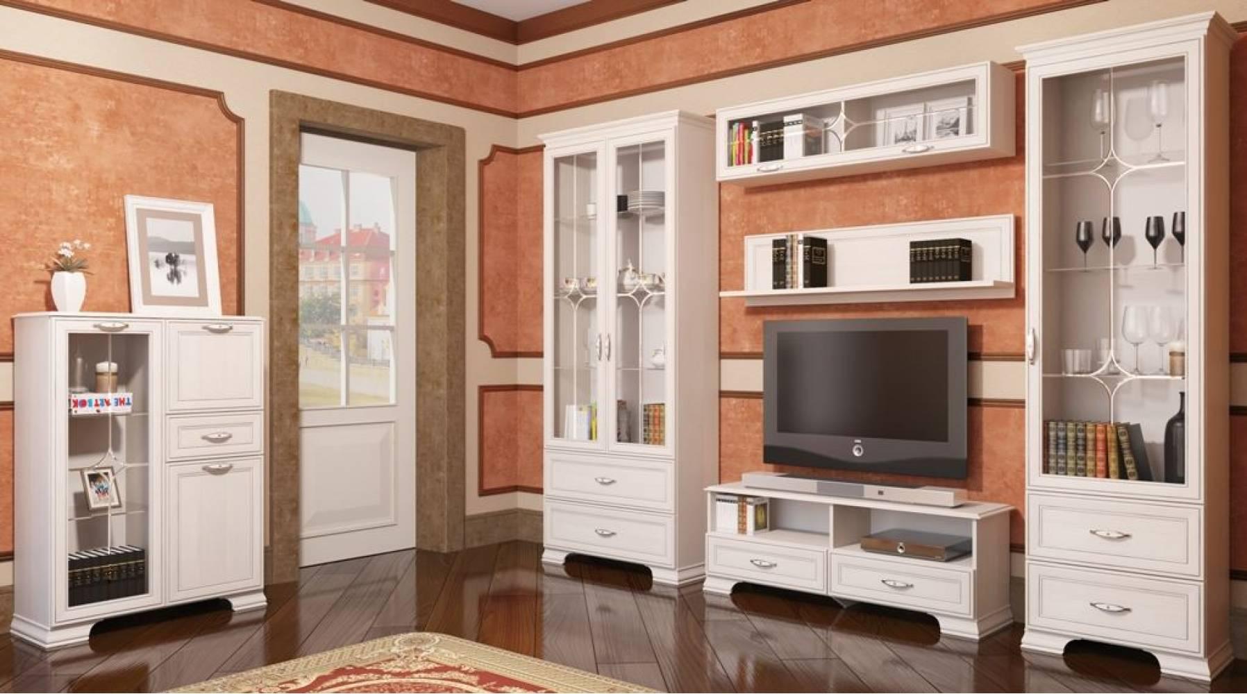 Гостиная Венеция (Ижмебель). Компоновка 1