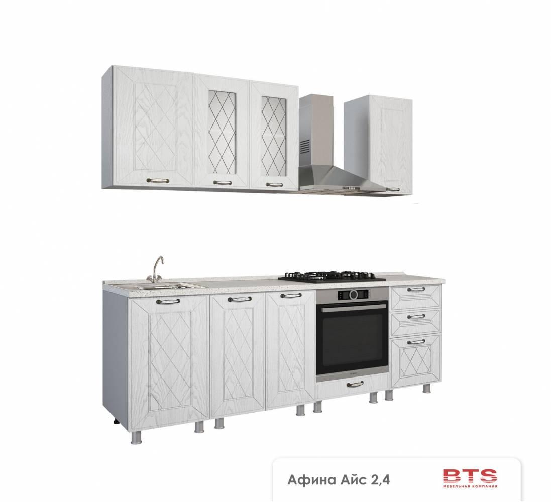 Кухня Афина айс 2.4 м
