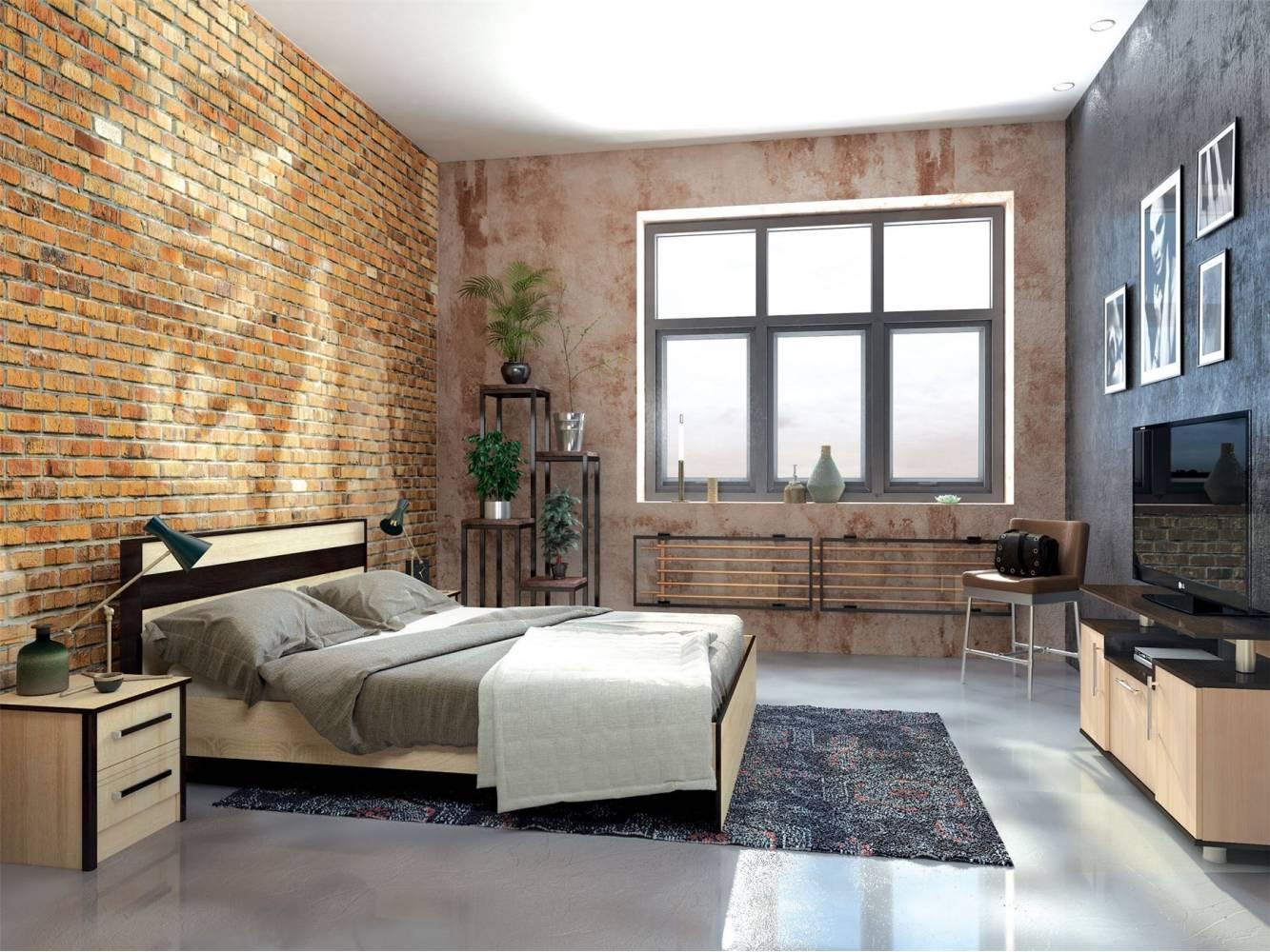 Спальня Лирика. Комплект 1