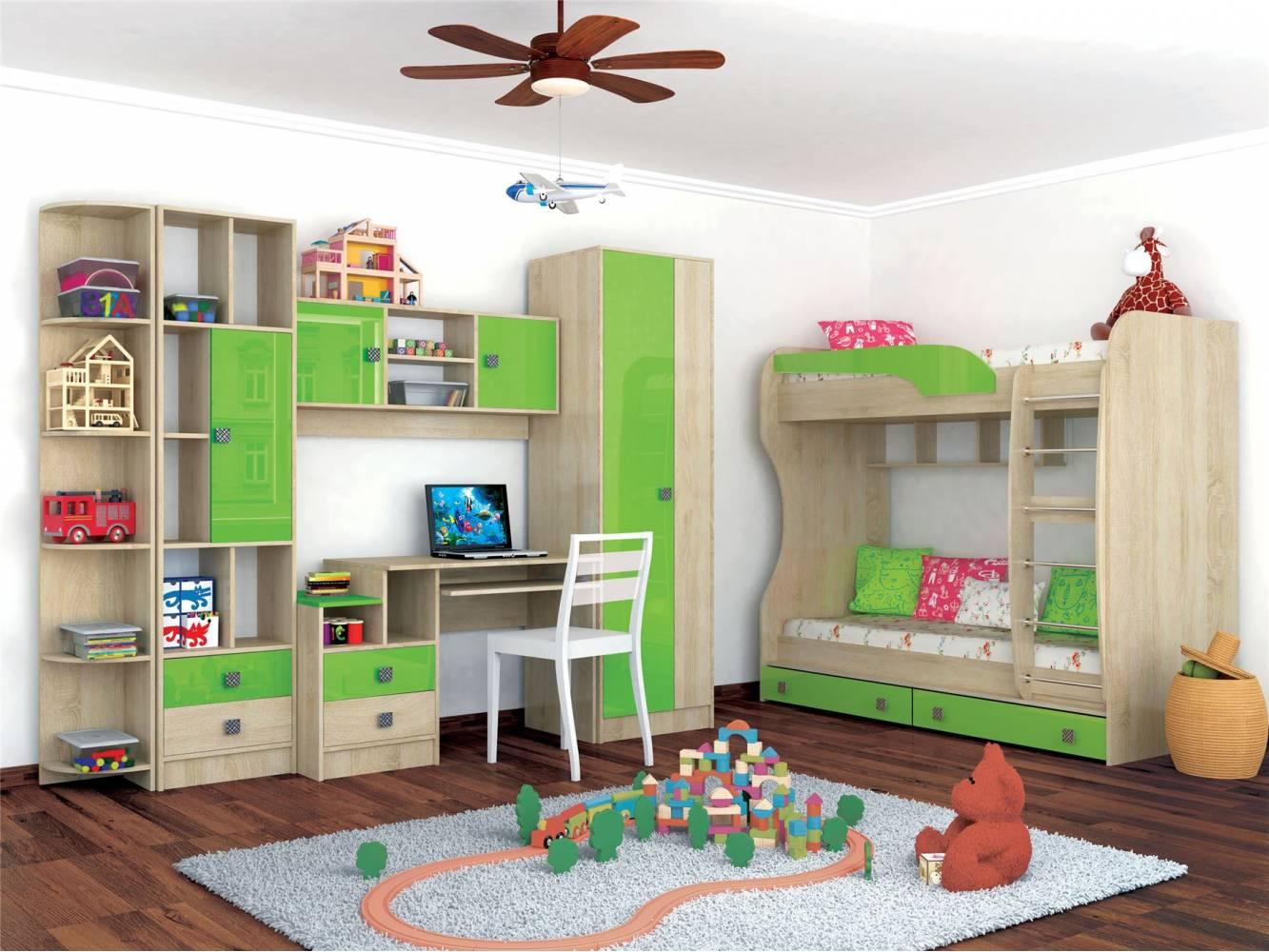 Детская комната Колибри Мохито. Комплект 1