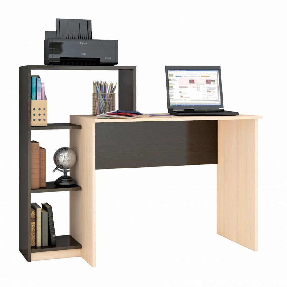 Стол компьютерный Квартет-2 (Венге)