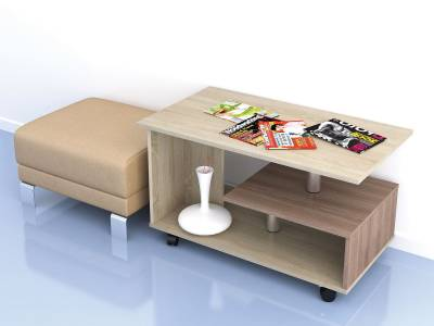 Стол журнальный Консул-5 (Дуб Сонома)
