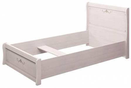 26 Афродита Кровать двойная 120, без ортопеда, без матраса и без кованного элемента