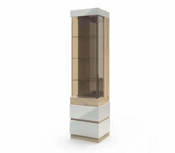 Шкаф с витриной Л(П) Хилтон Сонома, КМК 0651.18(17)