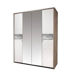 Шкаф для одежды 4Д Кристал КМК 0650.8