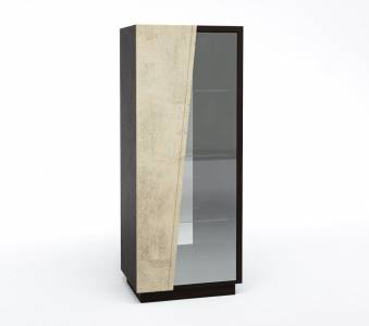 Шкаф с витриной Л Нирвана КМК 0555.4