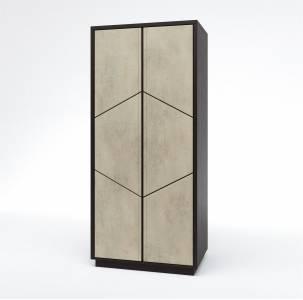 Шкаф для одежды 2Д Нирвана КМК 0555.6-01 без зеркала