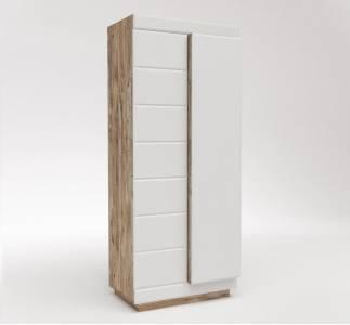 Шкаф для одежды 2Д Роксет без зеркала КМК 0554.11-01