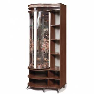 Шкаф с витриной Л Орфей 12, КМК 0365.3 (левая)