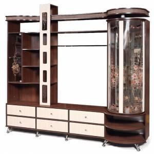 Шкаф комбинированный с витриной П Орфей 11, КМК 0364.2 правый