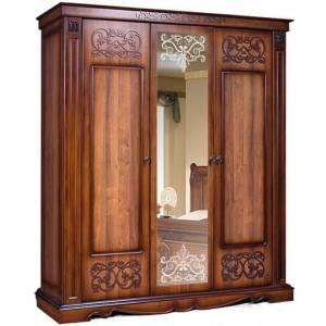Шкаф для одежды 3Д Амелия КМК 0435.10 Орех