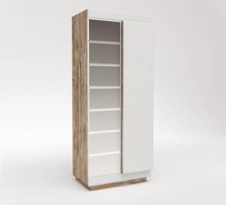 Шкаф для одежды 2Д Роксет с зеркалом КМК 0554.11