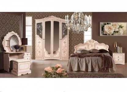 Спальня Мелани 2 КМК 0434-02 (Дуб молочный)