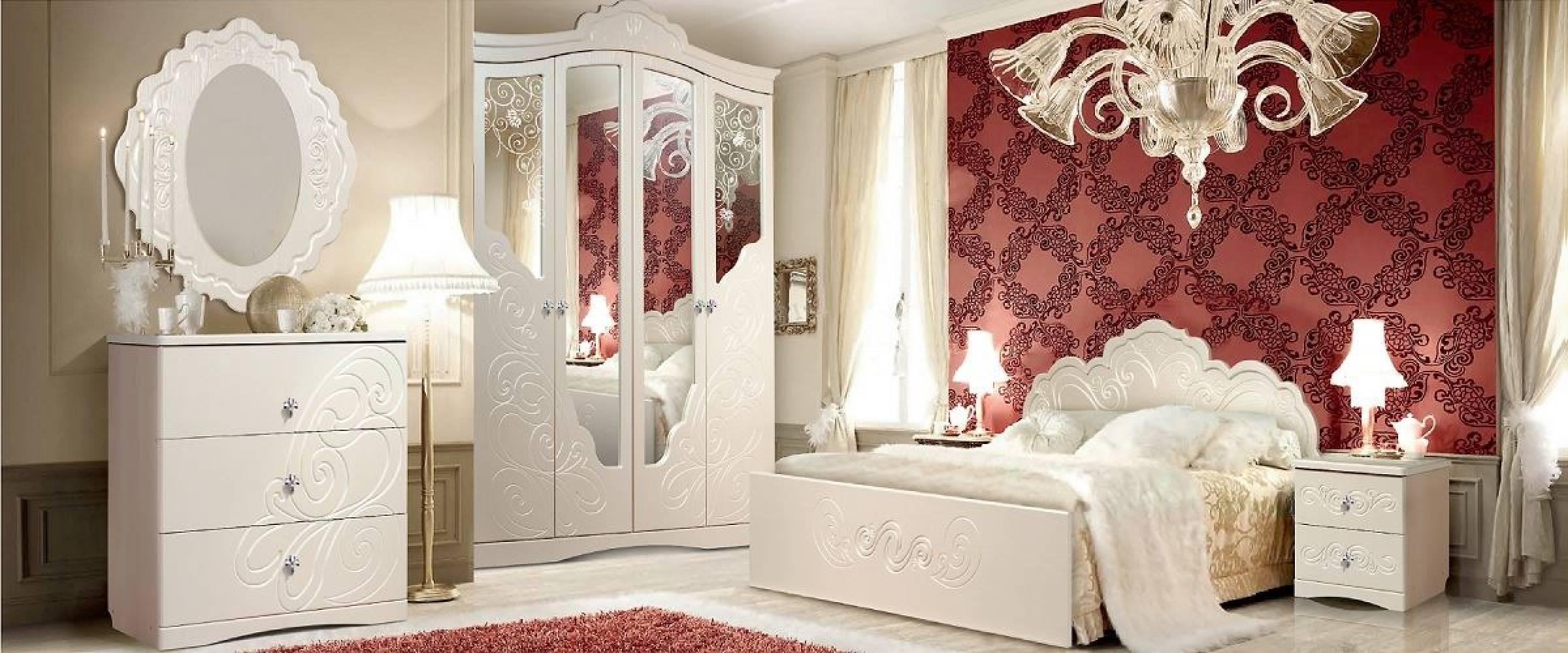 Спальня Жемчужина КМК 0380. Комплект 1