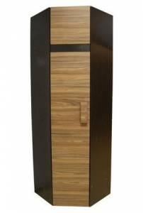 Шкаф угловой 2 Фасад Палисандр (левый)  Hyper