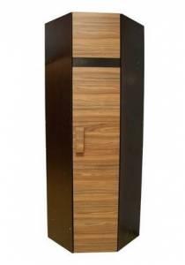 Шкаф угловой 2 Фасад Палисандр (правый) Hyper