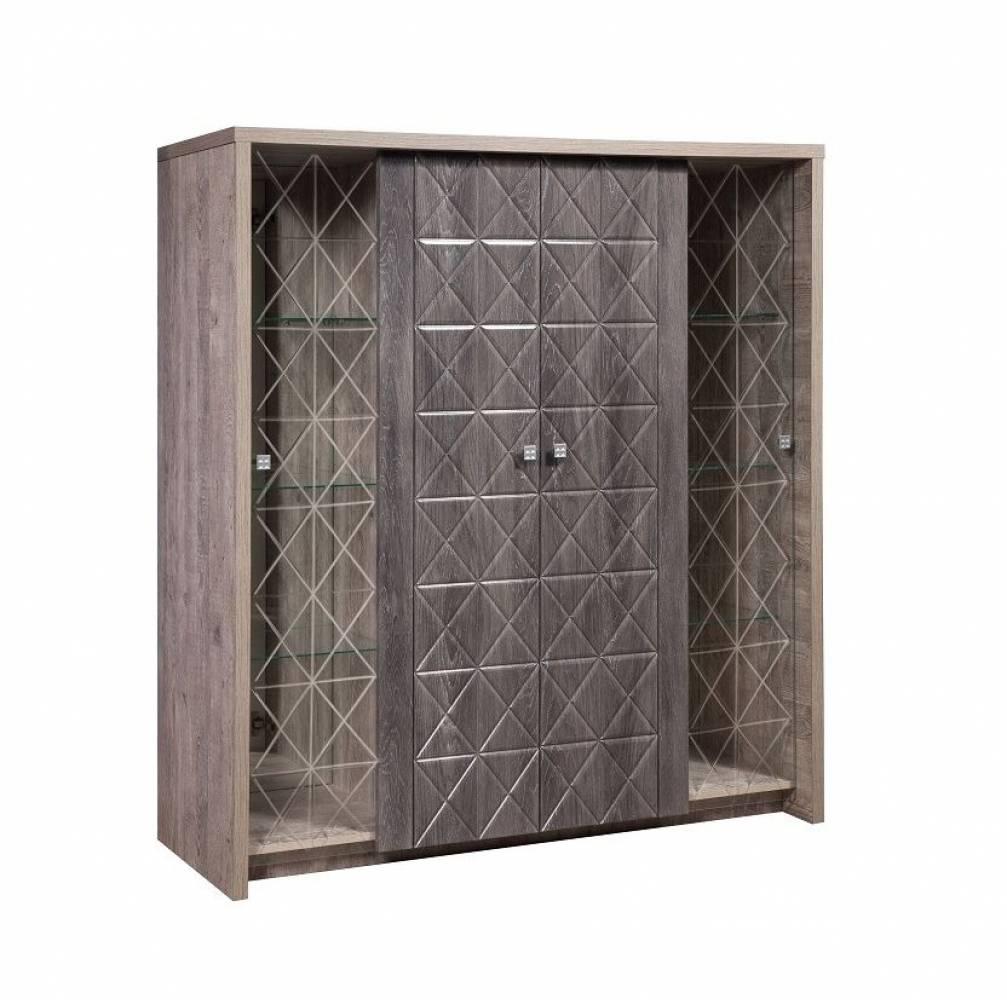 Шкаф комбинированный 4Д Монако КМК 0673.12