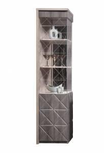 Шкаф с витриной П Монако КМК 0673.7