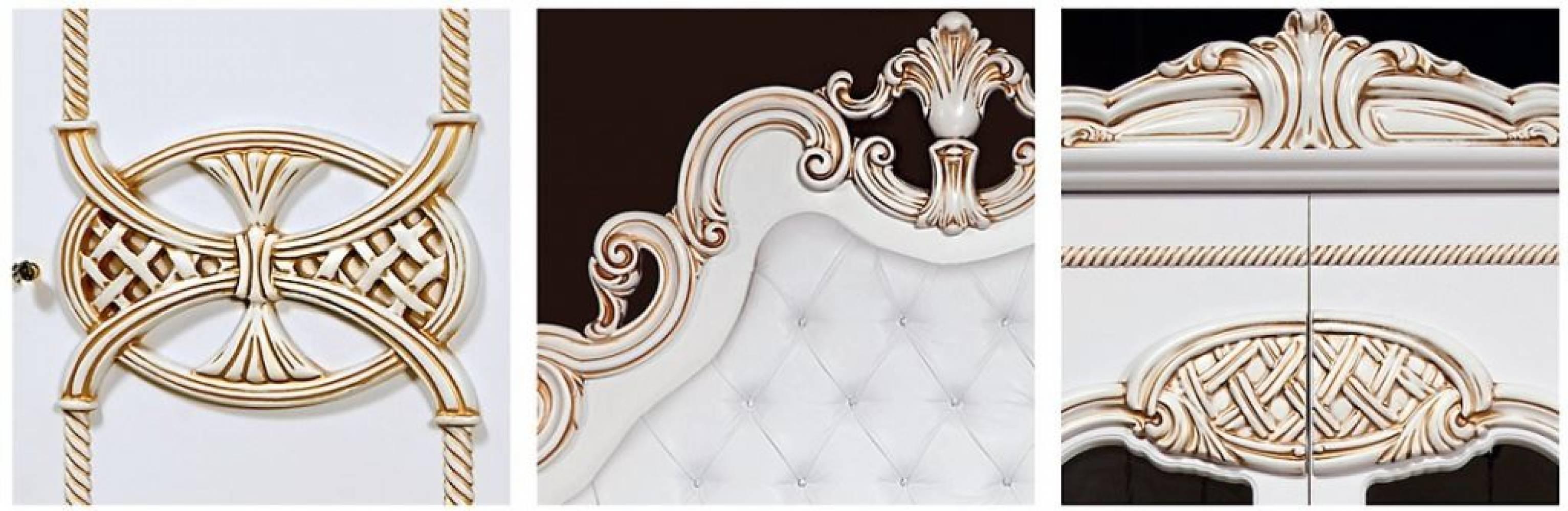 Спальня Розалия КМК 0456-02 (Белая). Комплект 1