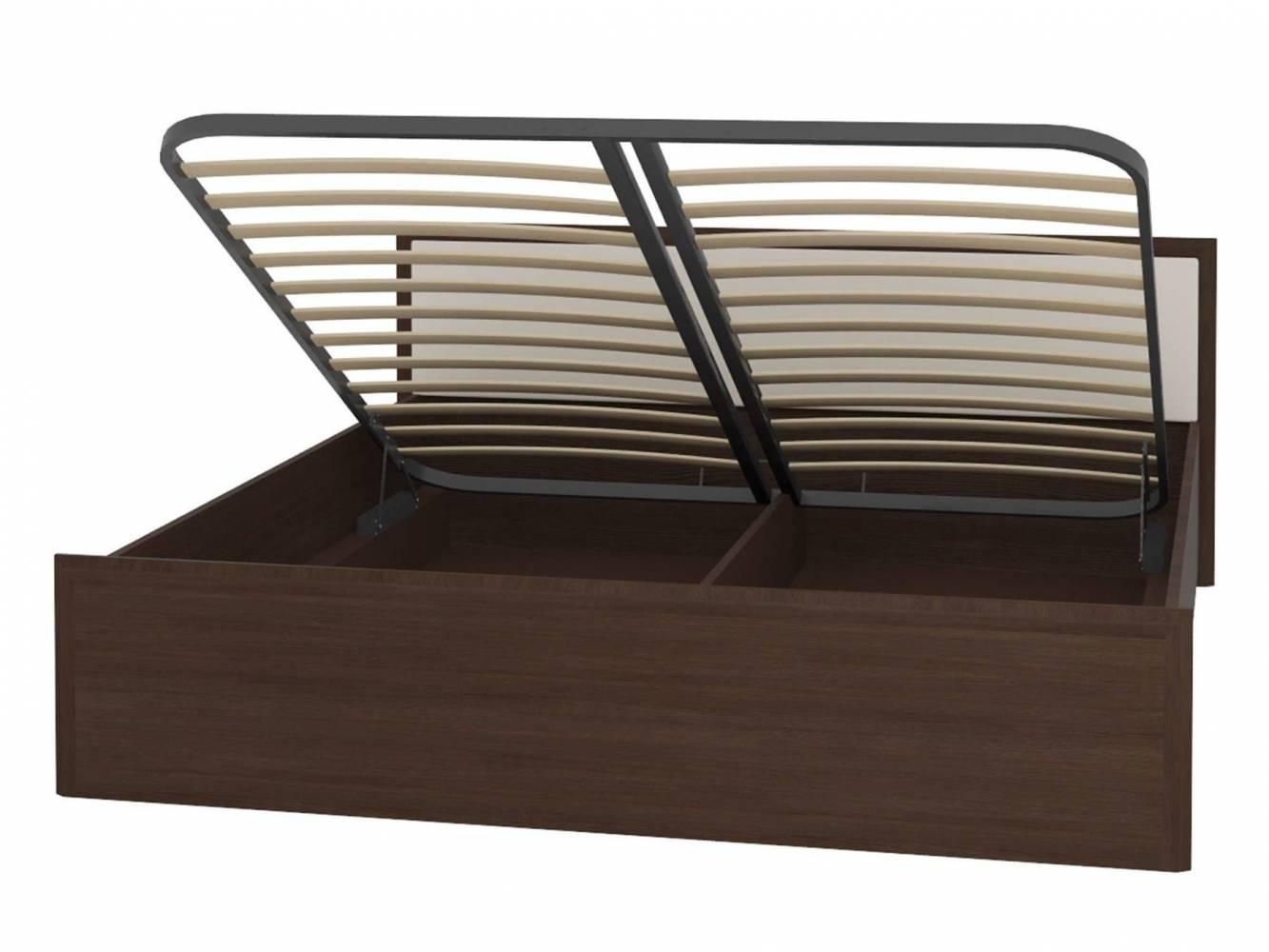 АМЕЛИ 1+1.2 Кровать 180*200 Венге в комплекте с основанием с подъемным механизмом