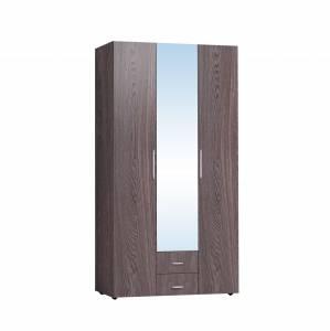 Монако 444 Шкаф для одежды и белья, Ясень Анкор темный