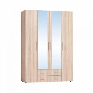Монако 555 Шкаф для одежды и белья, Дуб Сонома
