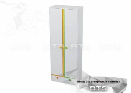 Шкаф 2-х створчатый Мамба ШК-15