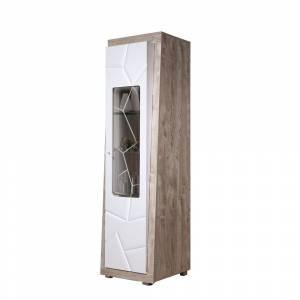 Шкаф с витриной П Кензо 1 КМК 0674.23