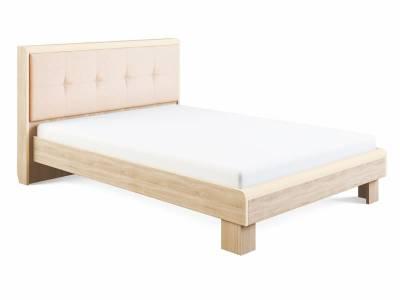 Оливия Модуль 2.1 Кровать с мягкой спинкой 1,4, без ортопеда, без матраса
