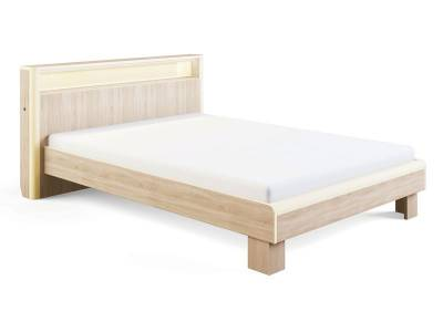 Оливия Модуль 3.1 Кровать с подсветкой 1,4, без ортопеда, без матраса