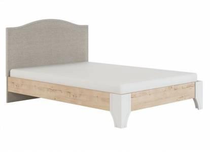 Флоренция Модуль 11.2 Кровать с мягкой спинкой 1,4, б/орт, б/матраса