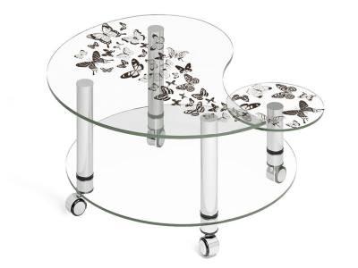 Стол журнальный Махаон стеклянный